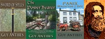 Guy Antibes - Fantasy with a proclivity towards Sword & Sorcery